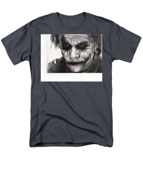 Joker Face Men's T-Shirt  (Regular Fit) by James Holko
