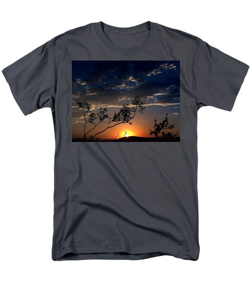 Joshua Tree Sunset Men's T-Shirt  (Regular Fit)