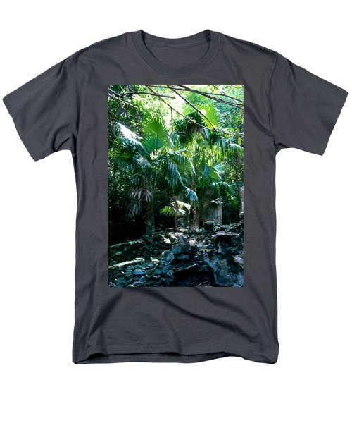 Jungle Sun  Men's T-Shirt  (Regular Fit) by Robert Nickologianis