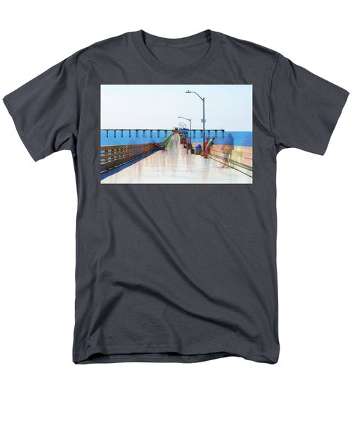 Just Hanging Out In The Summertime Men's T-Shirt  (Regular Fit) by Joseph S Giacalone