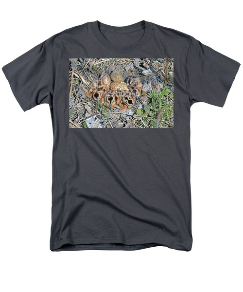 Just Hatched American Woodcock Chicks Men's T-Shirt  (Regular Fit) by Asbed Iskedjian