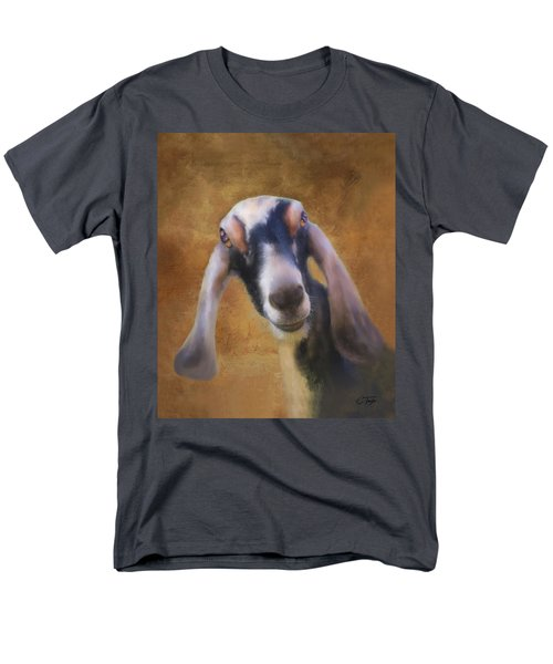 Men's T-Shirt  (Regular Fit) featuring the mixed media Just Kidding Around by Colleen Taylor