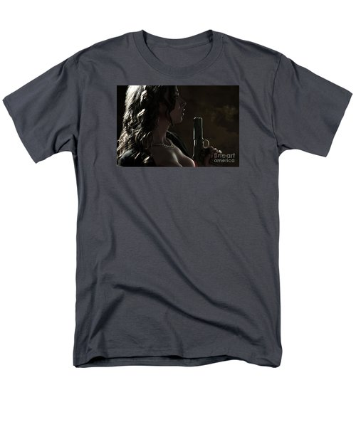 Just Shot That 45 Men's T-Shirt  (Regular Fit) by David Bazabal Studios