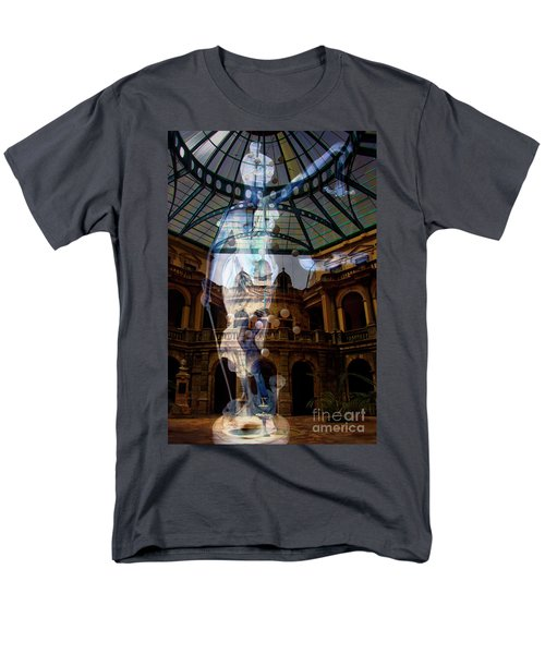 Men's T-Shirt  (Regular Fit) featuring the photograph Justice Is Blind by Al Bourassa