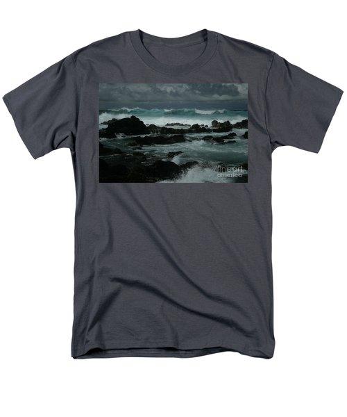 Ka Makani Kaiili Aloha Hookipa Maui Hawaii  Men's T-Shirt  (Regular Fit) by Sharon Mau