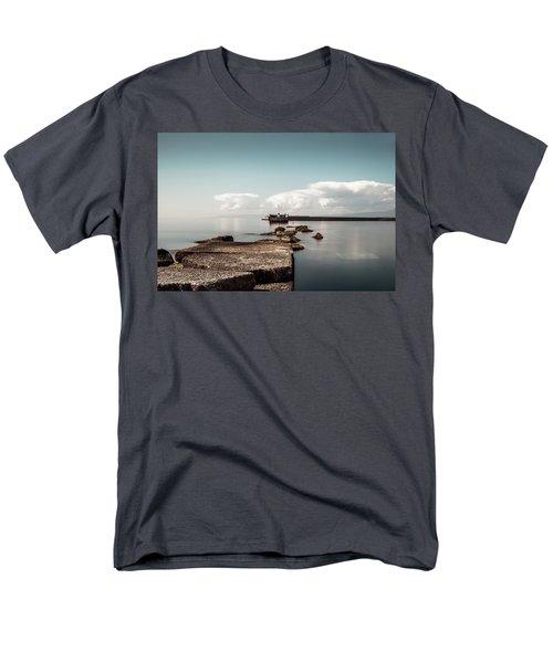 Kalamata Port / Greece Men's T-Shirt  (Regular Fit) by Stavros Argyropoulos