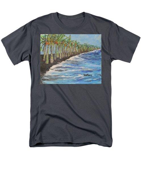 Kalapana Beach Men's T-Shirt  (Regular Fit)