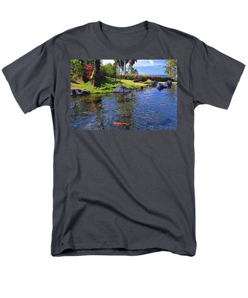 Kauai Serenity Men's T-Shirt  (Regular Fit) by Marie Hicks
