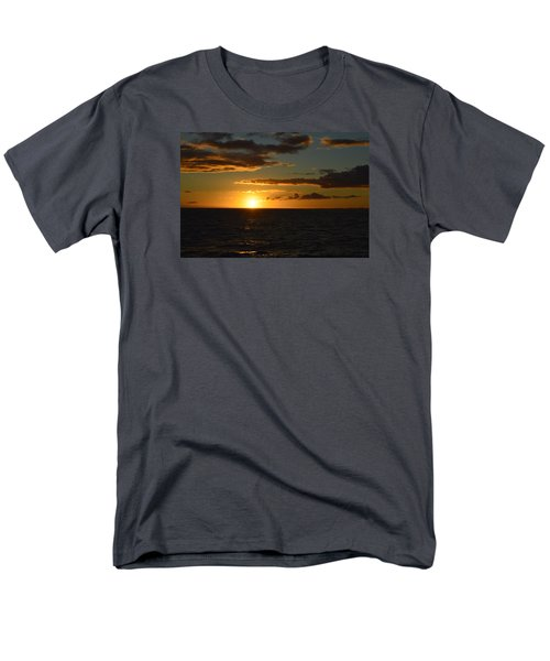 Men's T-Shirt  (Regular Fit) featuring the photograph Kauai Sunset by James McAdams