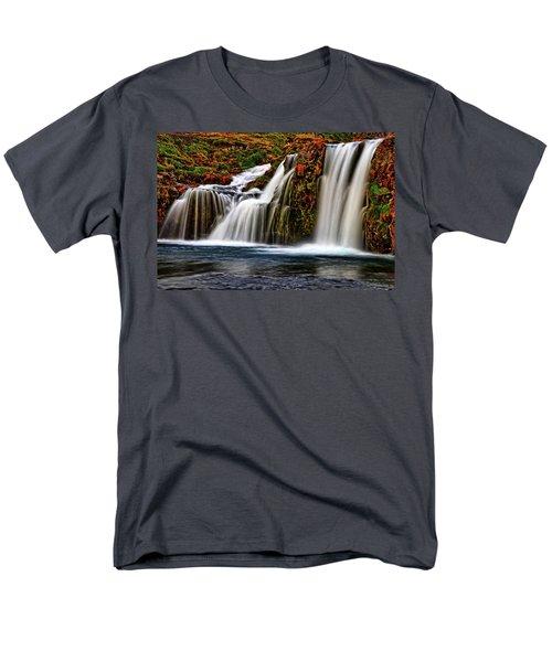 Men's T-Shirt  (Regular Fit) featuring the photograph Kay Falls by Scott Mahon
