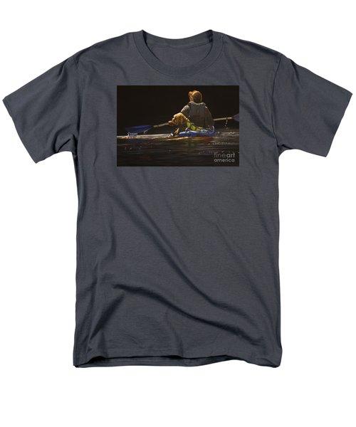 Kayaking With Your Best Friend Men's T-Shirt  (Regular Fit) by Laurie Tietjen