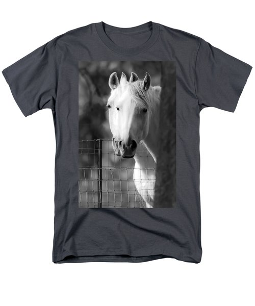 Men's T-Shirt  (Regular Fit) featuring the photograph Keeping Their Eyes On Us D3126 by Wes and Dotty Weber