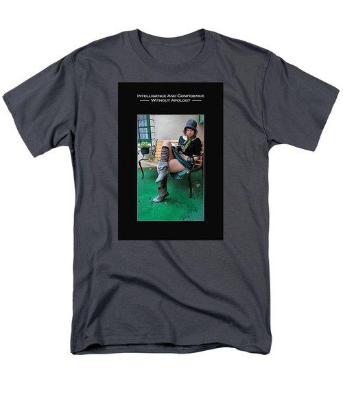Kellie Peach 6-73 Men's T-Shirt  (Regular Fit) by David Miller