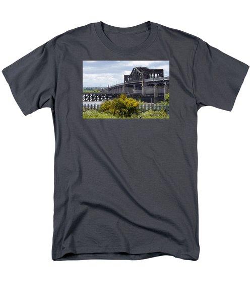 Men's T-Shirt  (Regular Fit) featuring the photograph Kincardine Bridge by Jeremy Lavender Photography