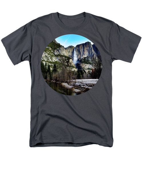 King Of Waterfalls Men's T-Shirt  (Regular Fit) by Adam Morsa