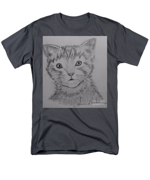 Men's T-Shirt  (Regular Fit) featuring the painting Kitten by Brindha Naveen