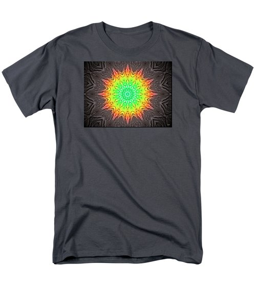 Men's T-Shirt  (Regular Fit) featuring the photograph Klidanature Sun  by Debra     Vatalaro