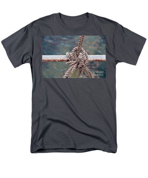 Men's T-Shirt  (Regular Fit) featuring the photograph Knot Of My Warf by Stephen Mitchell