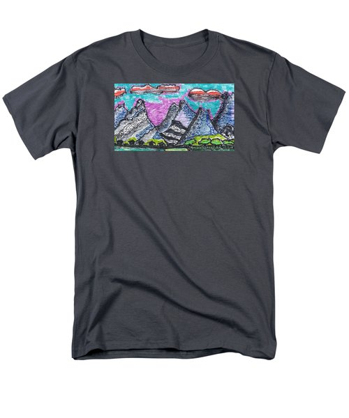 Korean Hills Men's T-Shirt  (Regular Fit) by Don Koester