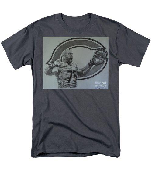 Kyle Long Portrait Men's T-Shirt  (Regular Fit) by Melissa Goodrich