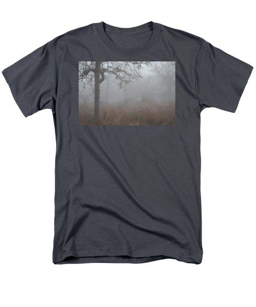 Men's T-Shirt  (Regular Fit) featuring the photograph La Vernia Fog IIi by Carolina Liechtenstein