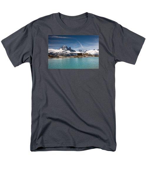 Lac Blanc Men's T-Shirt  (Regular Fit) by Aivar Mikko