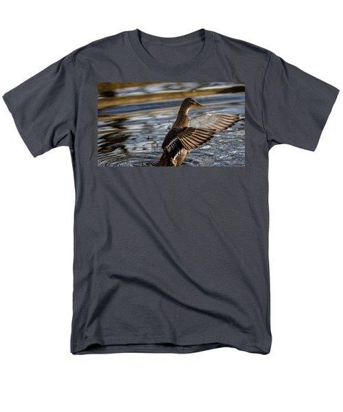 Lady Duck Men's T-Shirt  (Regular Fit) by Rainer Kersten