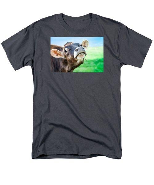 Lady Men's T-Shirt  (Regular Fit)