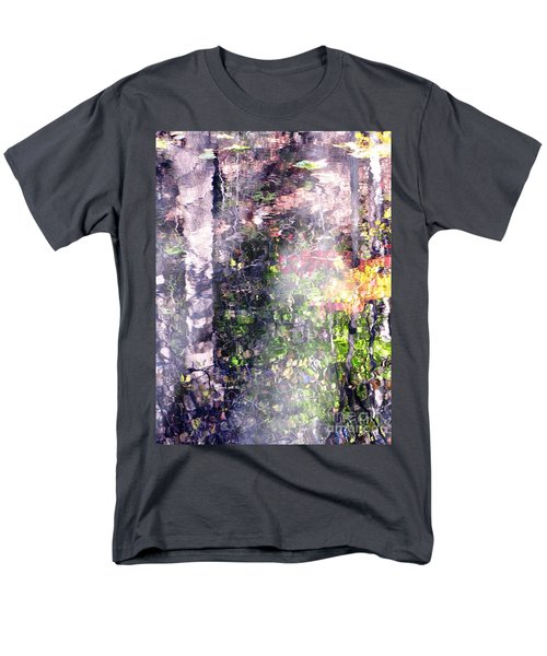 Men's T-Shirt  (Regular Fit) featuring the photograph Lady On Water by Melissa Stoudt