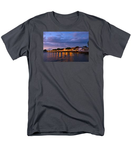 Lahaina Roadstead Men's T-Shirt  (Regular Fit) by James Roemmling