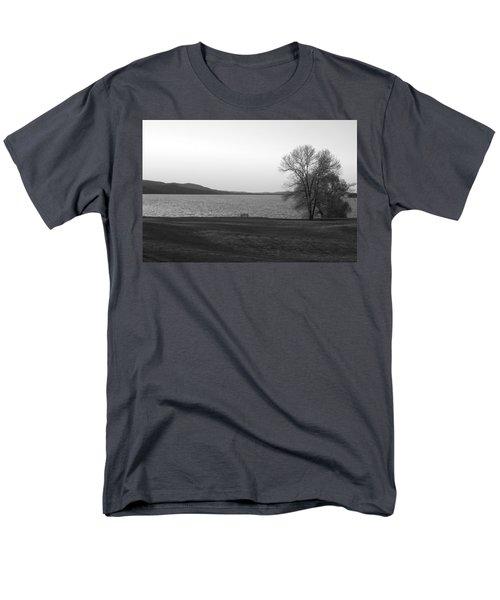 Lake Champlain Men's T-Shirt  (Regular Fit) by Henri Irizarri
