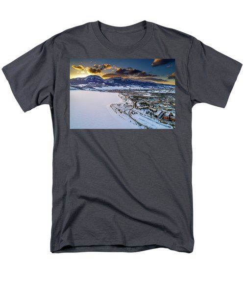 Lake Dillon Sunset Men's T-Shirt  (Regular Fit) by Sebastian Musial