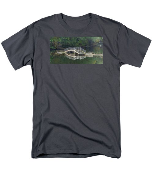 Lake Fenwick Men's T-Shirt  (Regular Fit) by Jerry Cahill