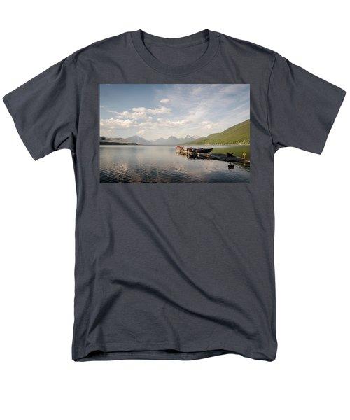 Lake Mcdonald Men's T-Shirt  (Regular Fit)