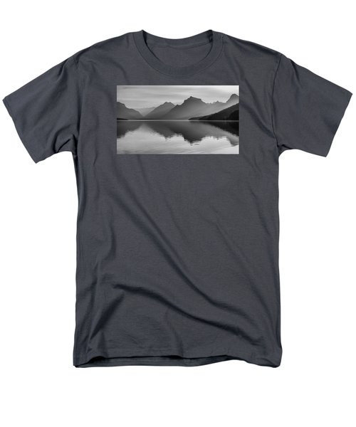 Men's T-Shirt  (Regular Fit) featuring the photograph Lake Mcdonald by Monte Stevens