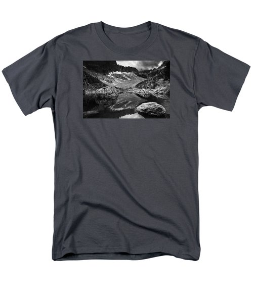 Men's T-Shirt  (Regular Fit) featuring the photograph Lake Reflections by Yuri Santin
