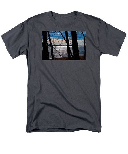 Men's T-Shirt  (Regular Fit) featuring the photograph Lake Romance by Valentino Visentini