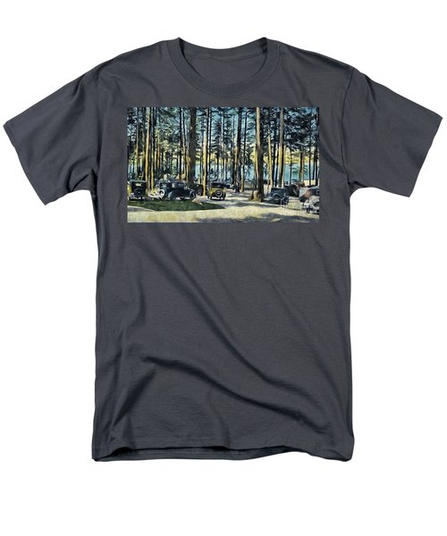 Lake Shore Park - Gilford N H Men's T-Shirt  (Regular Fit) by Mim White