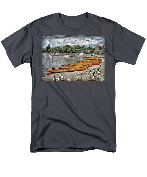 Men's T-Shirt  (Regular Fit) featuring the photograph Lake Windamere by Walt Foegelle