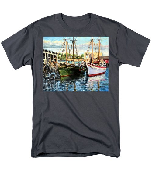 Lannon And Ardelle Gloucester Ma Men's T-Shirt  (Regular Fit) by Eileen Patten Oliver