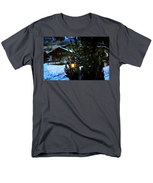 Lantern In The Woods Men's T-Shirt  (Regular Fit)