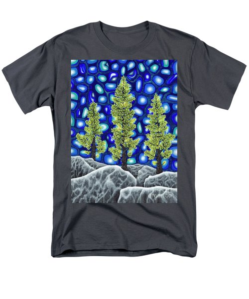 Larch Dreams 2 Men's T-Shirt  (Regular Fit) by Rebecca Parker