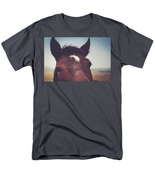Men's T-Shirt  (Regular Fit) featuring the photograph Lashes by Shane Holsclaw