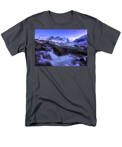 Men's T-Shirt  (Regular Fit) featuring the photograph Last Rays On Andromeda by Dan Jurak