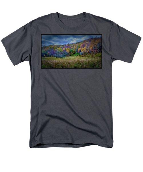 Late Fall On Green Knob Trail Men's T-Shirt  (Regular Fit)