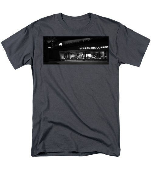 Men's T-Shirt  (Regular Fit) featuring the photograph Late Night At The Bucs by David Lee Thompson