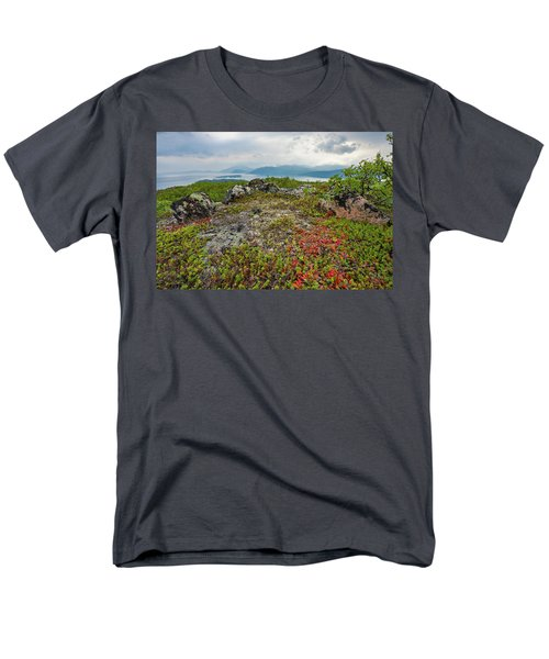 Men's T-Shirt  (Regular Fit) featuring the photograph Late Summer In The North by Maciej Markiewicz