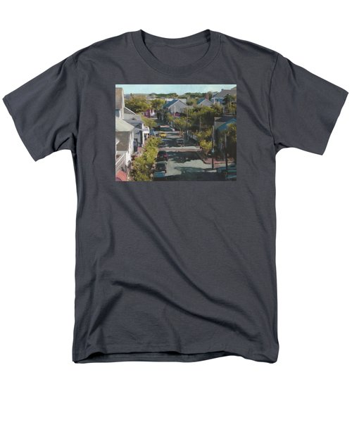 Late Summer Nantucket Men's T-Shirt  (Regular Fit)