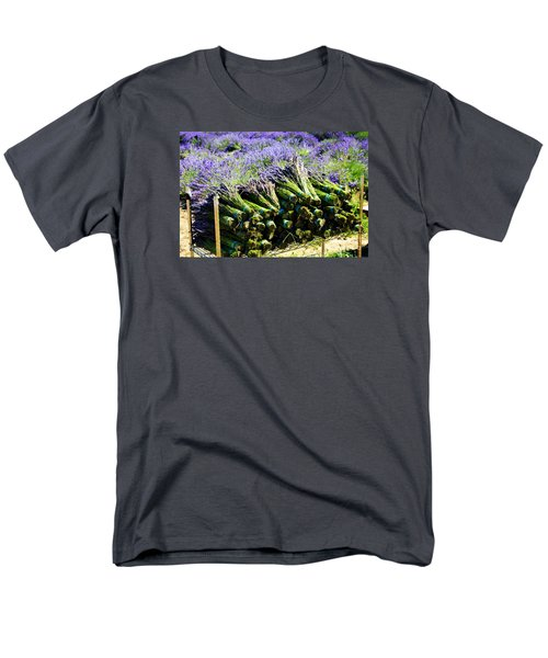 Lavender Bounty Men's T-Shirt  (Regular Fit) by Tanya  Searcy