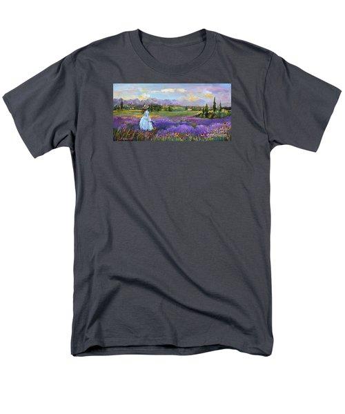 Lavender Splendor  Men's T-Shirt  (Regular Fit)
